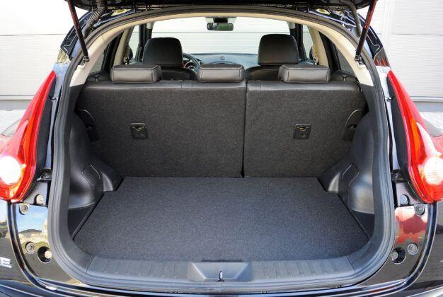 Nissan Juke I - bagażnik