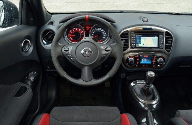 NISSAN Juke I FL Nismo RS 1.6DIG-T 218KM 6MT 4AJ5296 01-2015