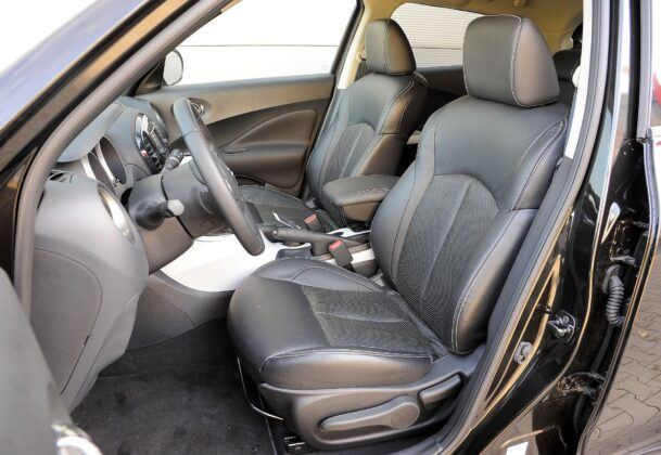 Nissan Juke I - fotel kierowcy