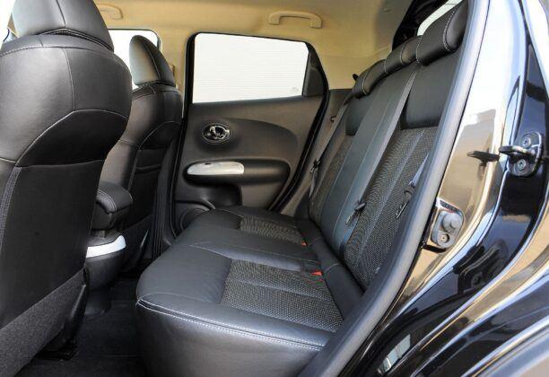 Nissan Juke I - kanapa