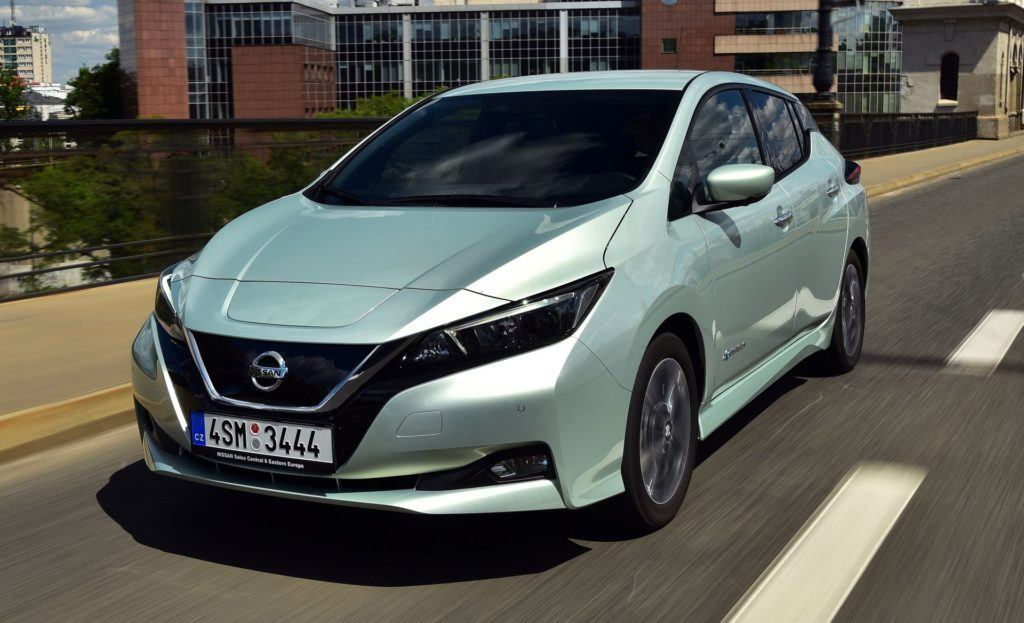 NISSAN Leaf II N-Connecta ProPilot 150KM AT CVT 4SM3444 05-2018