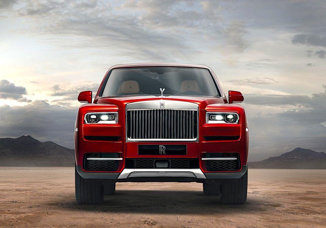 Rolls-Royce Cullinan - osłona chłodnicy