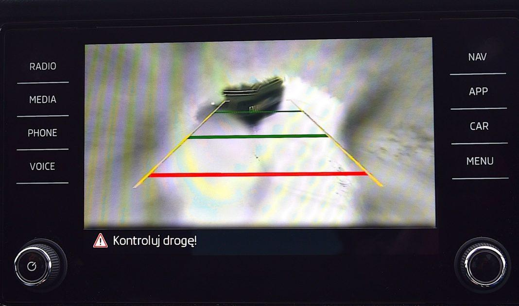 Skoda Kodiaq - kamera cofania