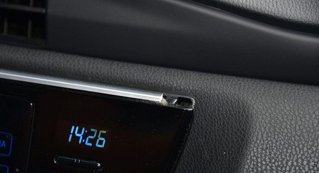 Toyota Auris TS Hybrid - listwa