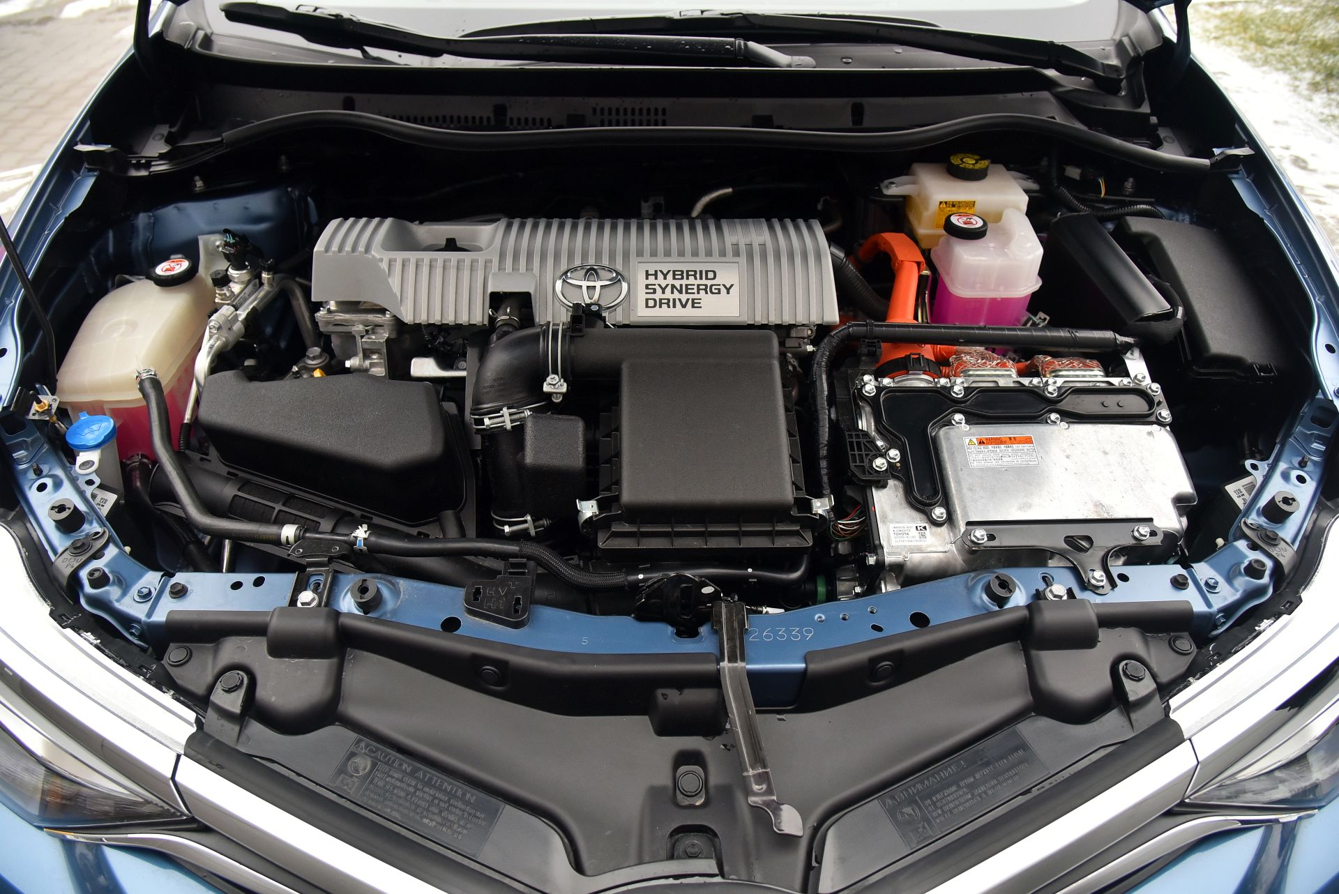Toyota Auris TS Hybrid - silnik