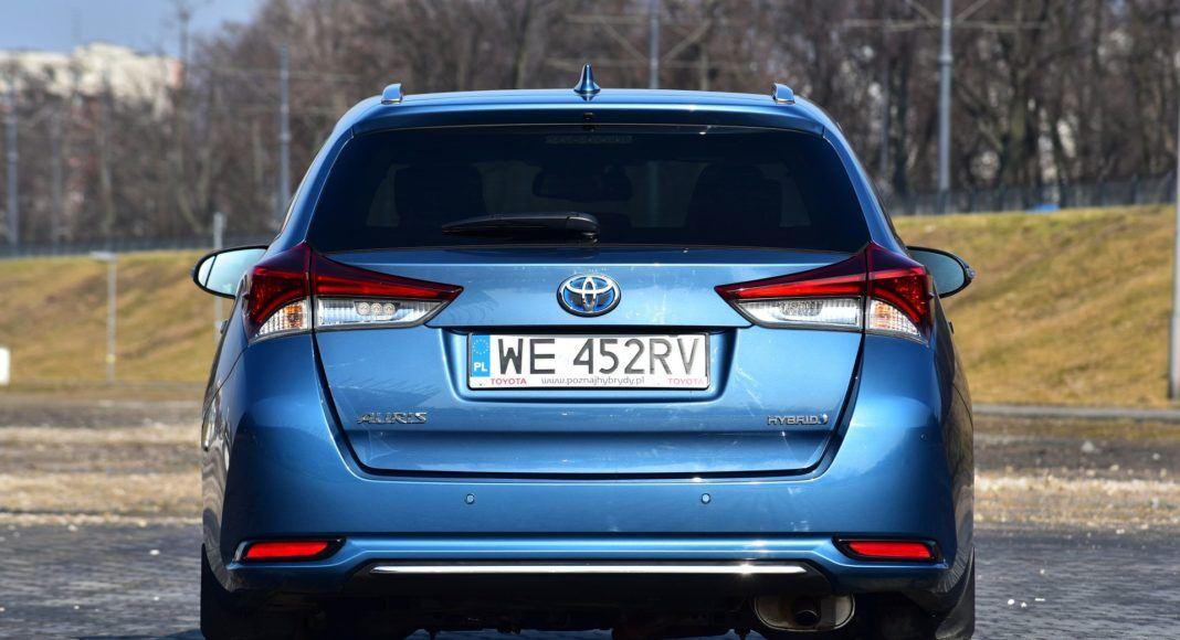 Toyota Auris TS Hybrid - tył
