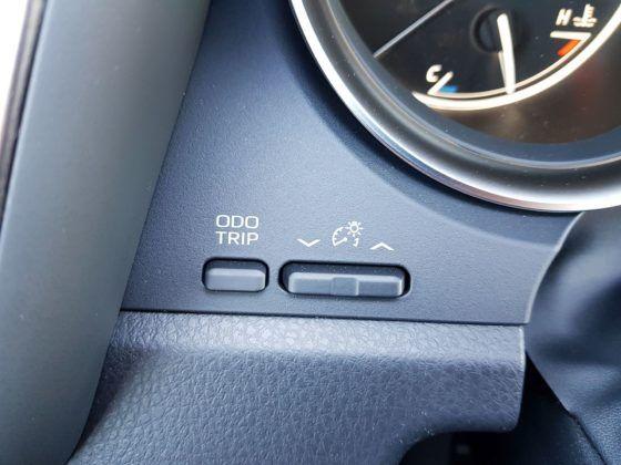 2019 Toyota Camry - przyciski