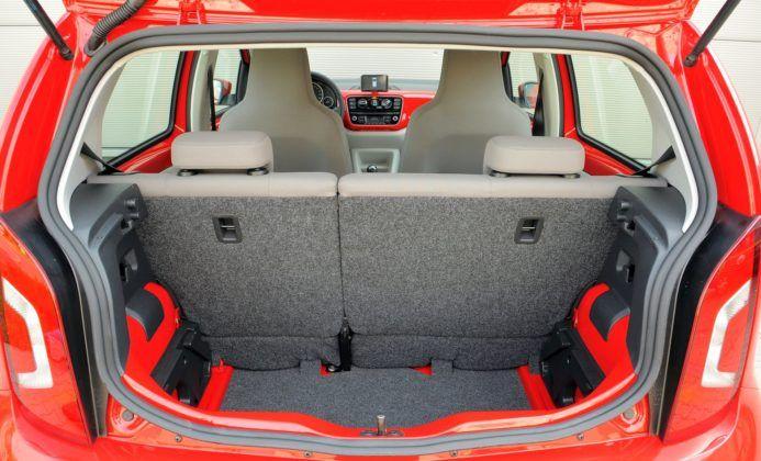Volkswagen Up! - bagażnik
