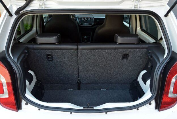 Volkswagen Up! bagażnik