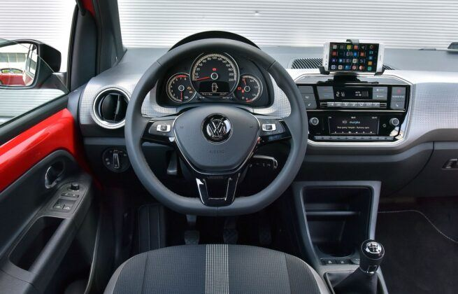 Volkswagen Up! deska rozdzielcza (2)