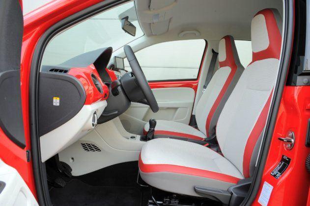Volkswagen Up! - fotel kierowcy