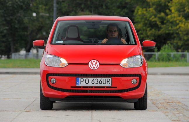 Volkswagen Up! - przód