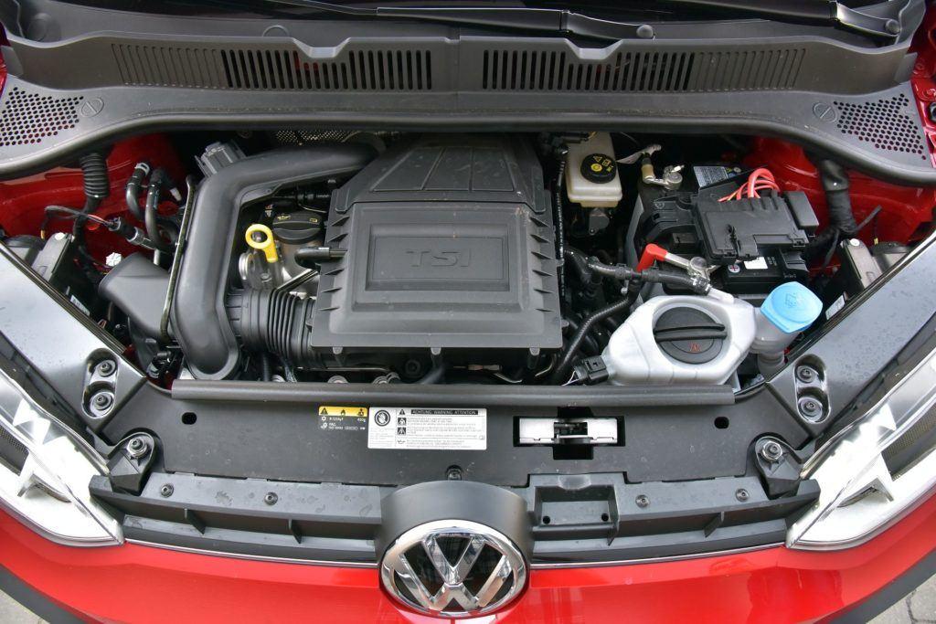 Volkswagen Up! - silnik