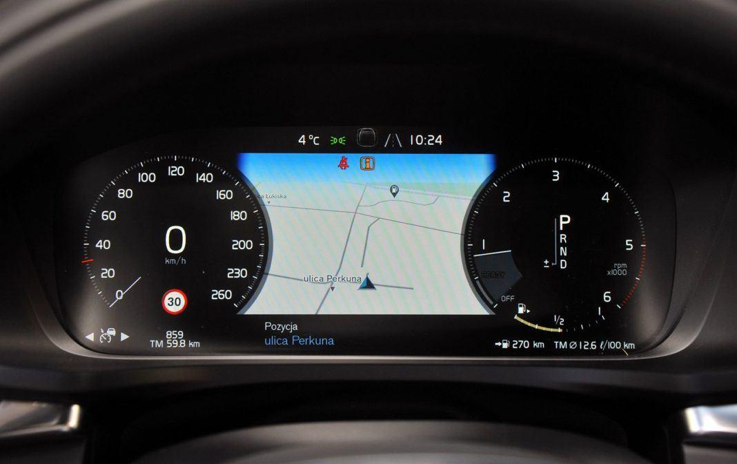 Volvo V60 Cross Country - zegary