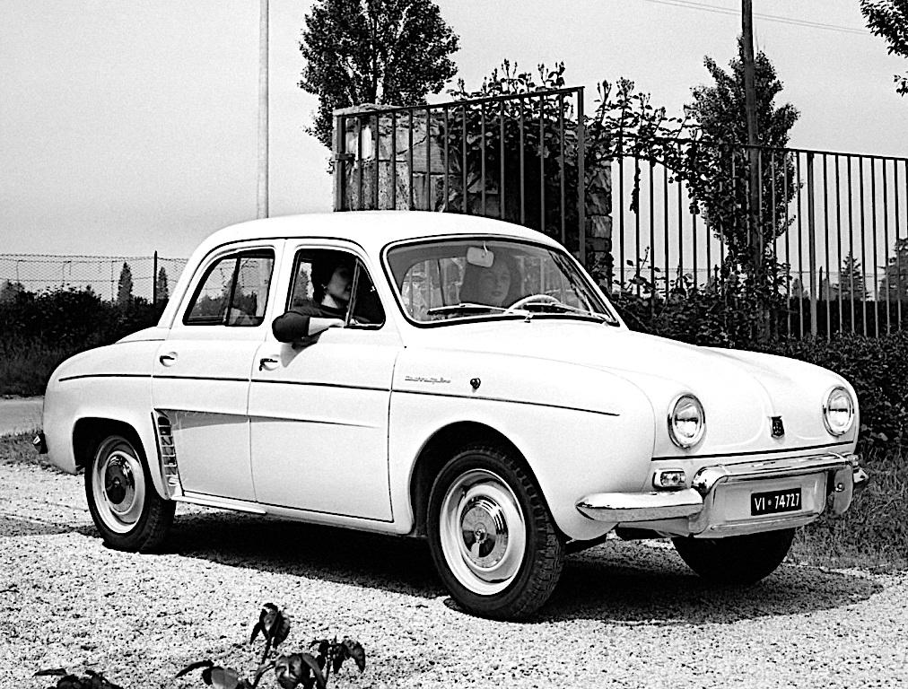 Alfa Romeo Dauphine - przód