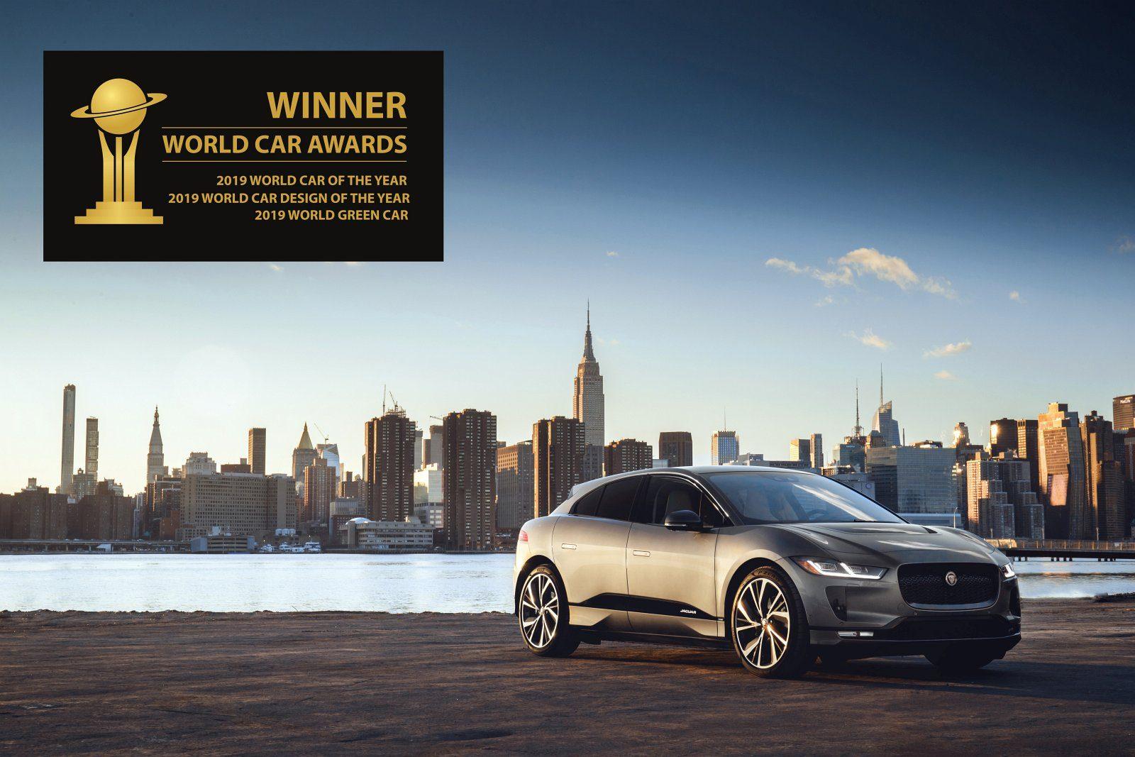 Jaguar I-Pace z tytułem WCOTY 2019