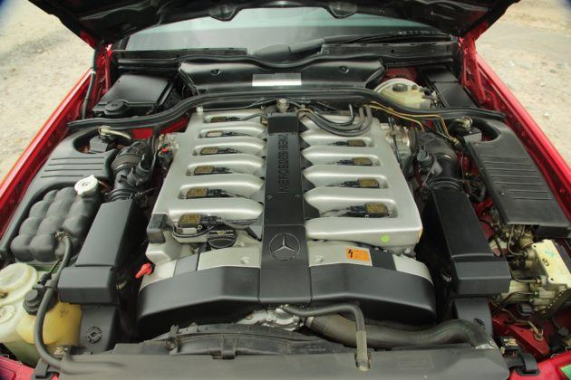 mercedes sl r129 silnik m120 600 v12