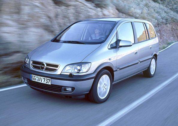 Opel Zafira - przód