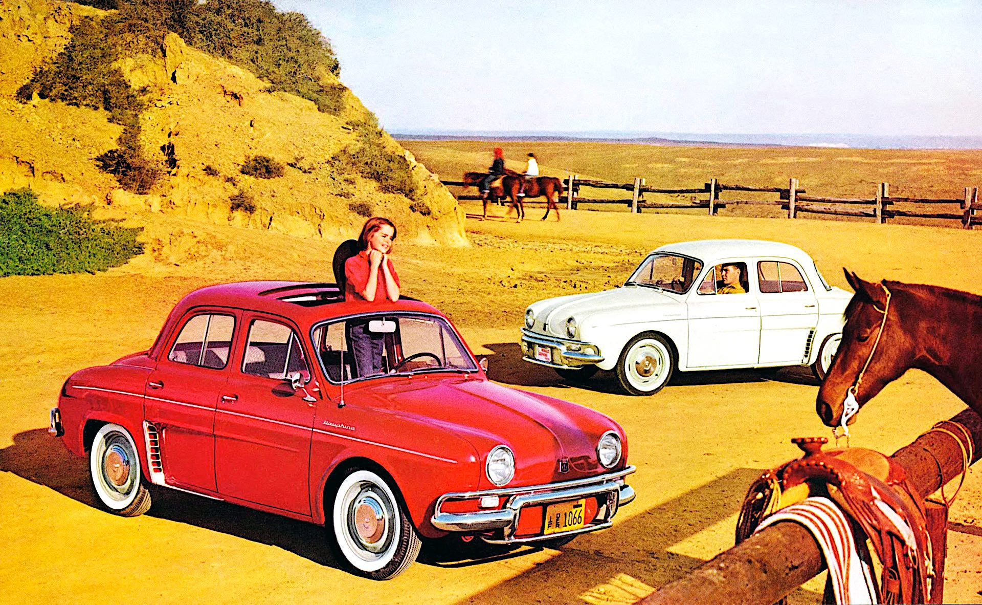 Renault Dauphine - przód