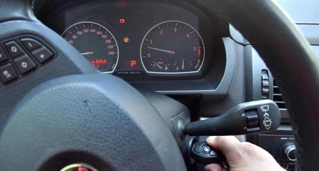 rozruch cieplego silnika - ogledziny pojazdu