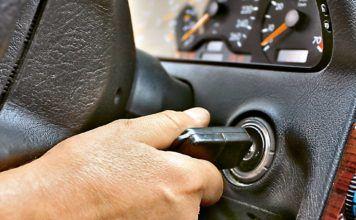 rozruch silnika - ogledziny pojazdu
