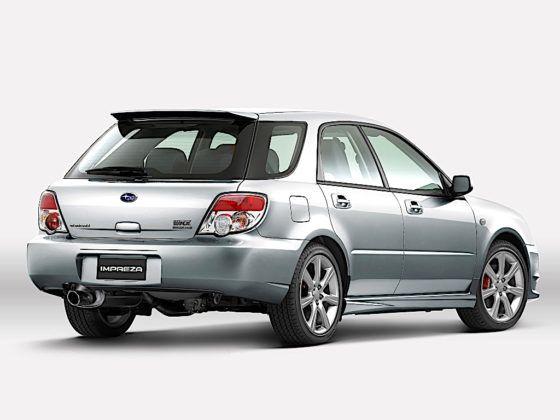 Subaru Impreza Wagon WRX - tył