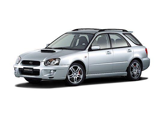 Subaru Impreza Wagon WRX - przód