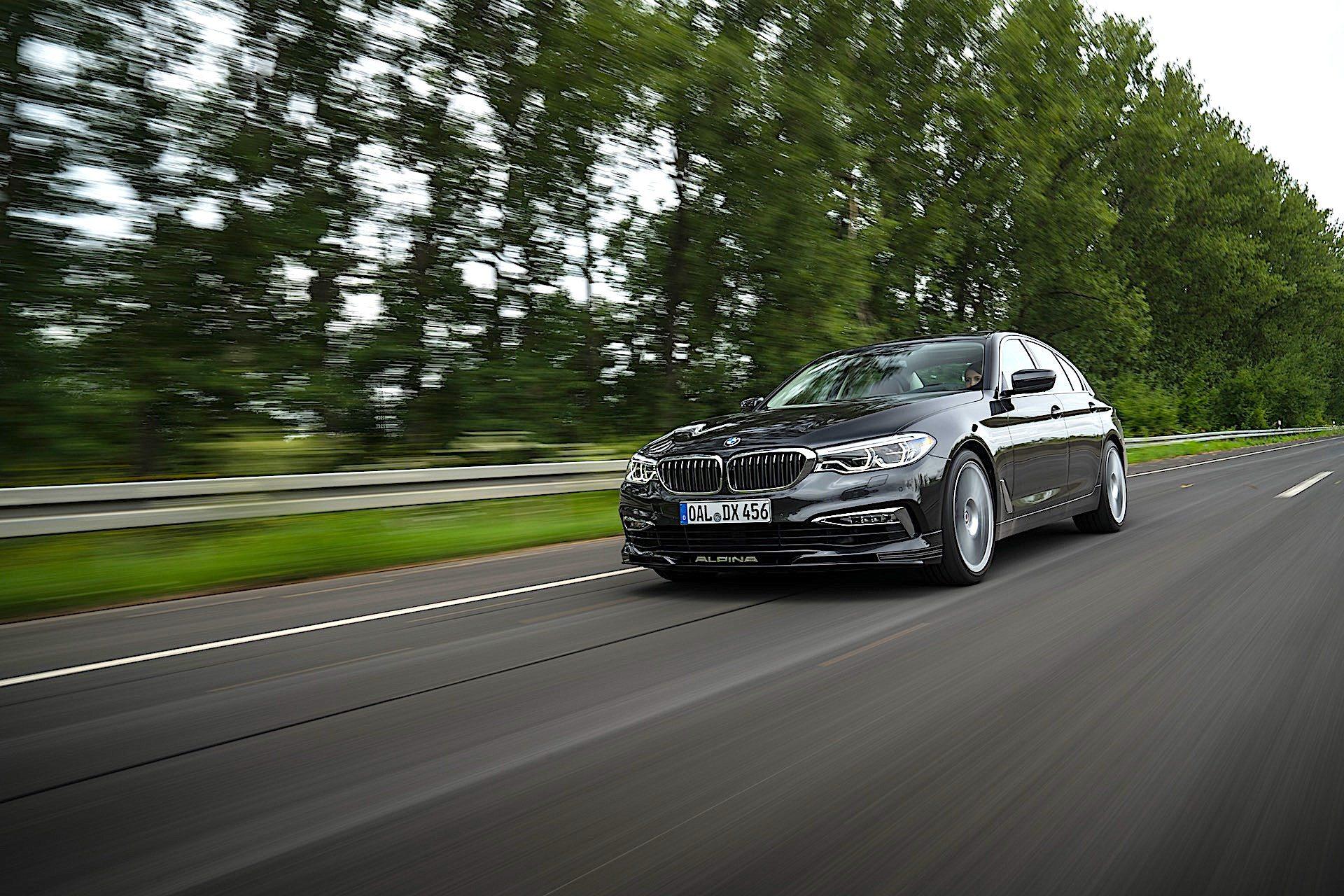 BMW Alpina D5 S - przód