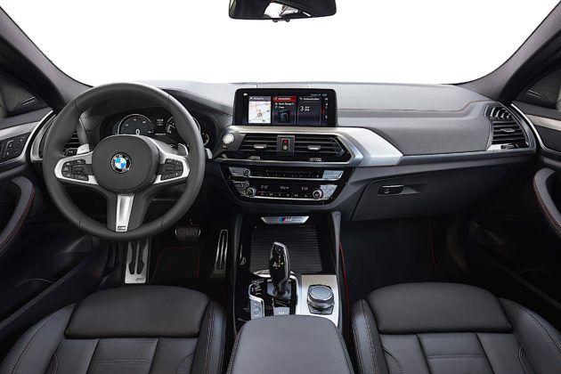 BMW X4 - kokpit