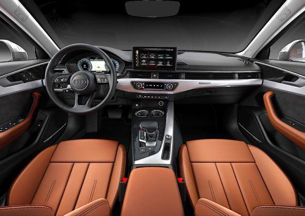 Audi A4 Limousine - kokpit
