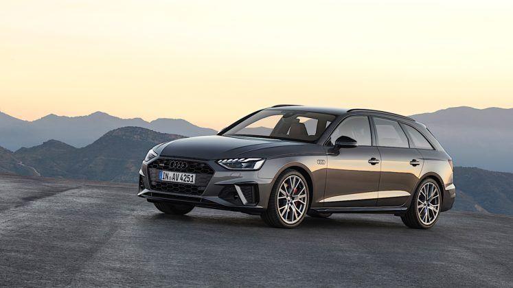 Audi A4 Avant - przód