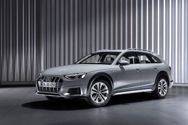 Audi A4 allroad quattro - przód