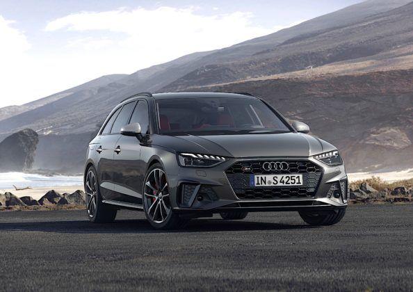 Audi S4 Avant TDI - przód
