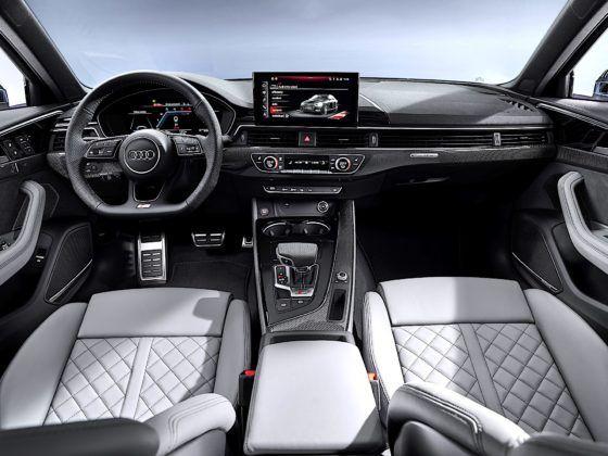 Audi S4 Limousine TDI - kokpit