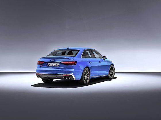 Audi S4 Limousine TDI - tył