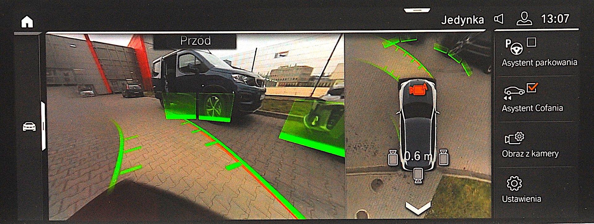 2019 BMW X5 - zestaw kamer