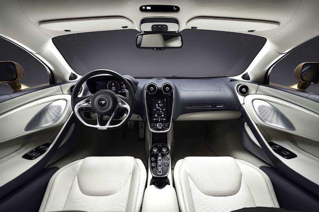 McLaren GT - kokpit