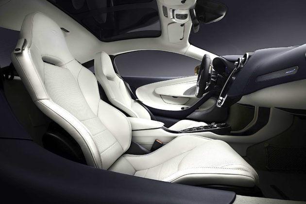McLaren GT - fotele