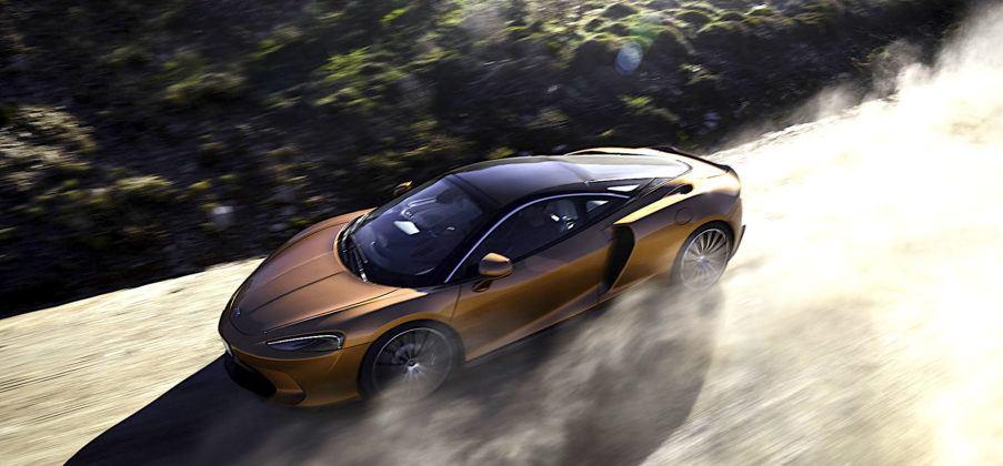 McLaren GT - przód