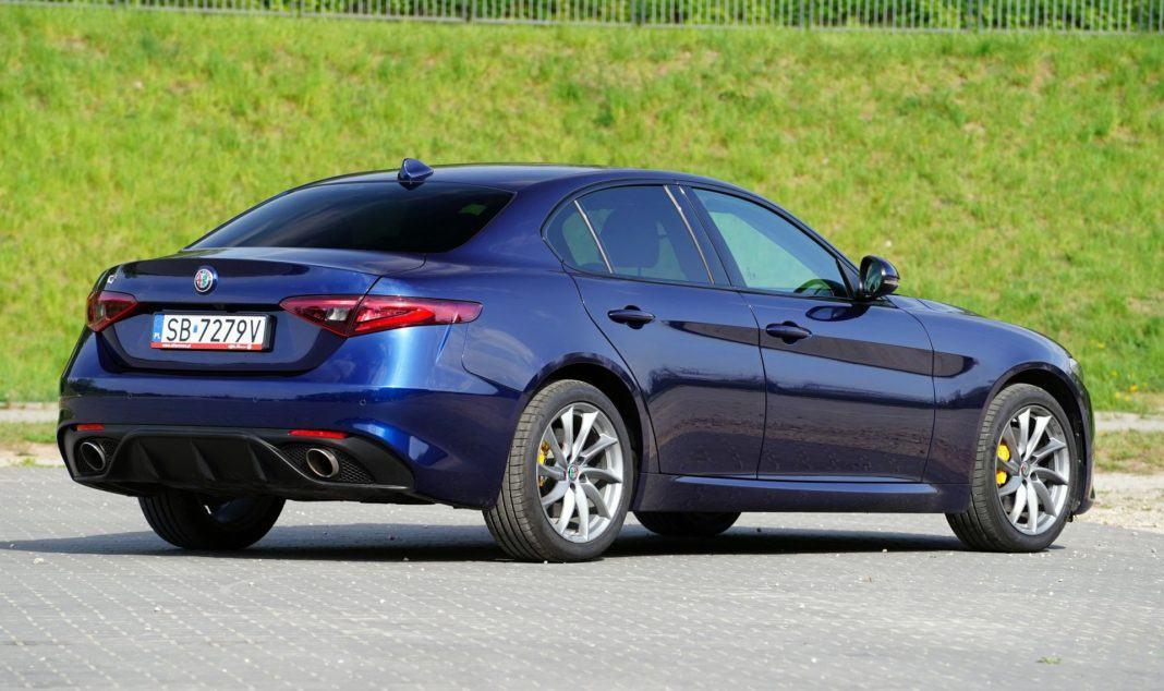 ALFA ROMEO Giulia Q4 2.0TBi 280KM 8AT 4WD SB7279V 04-2019