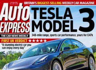 Pierwszy test Tesli Model 3, czyli motoryzacyjny przegląd prasy – Auto Express
