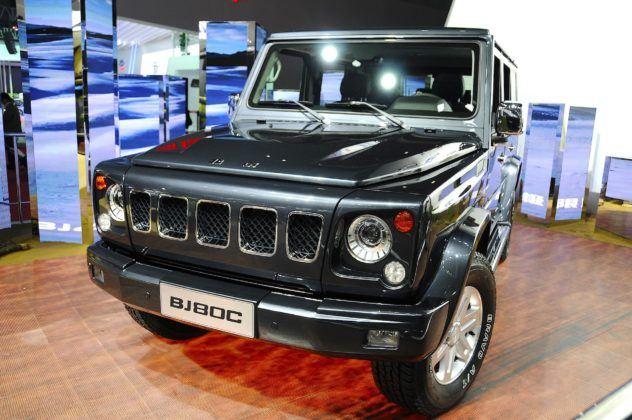 BAIC BJ80 - przód