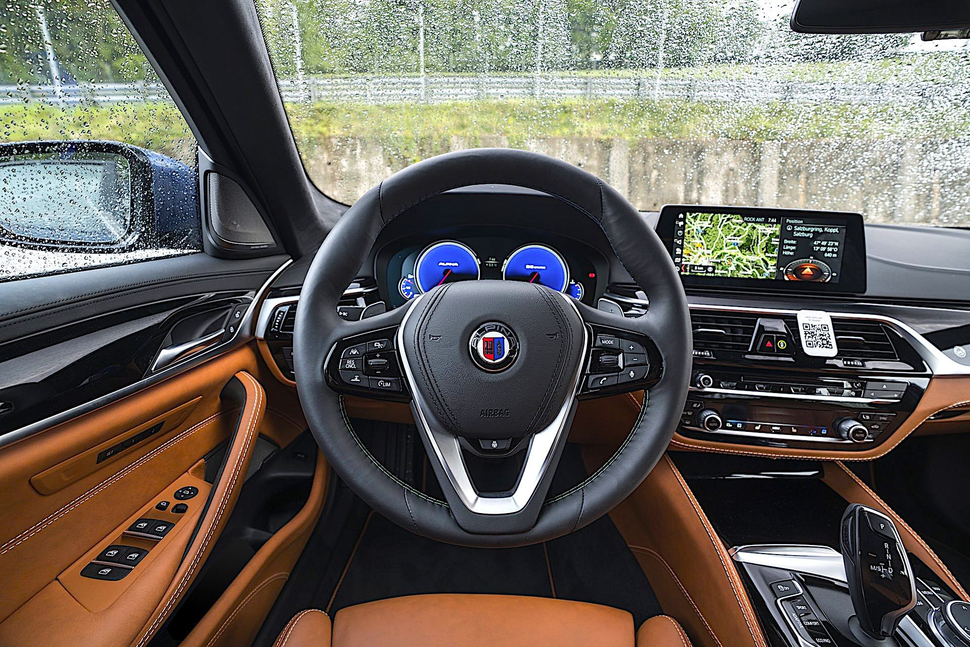 BMW Alpina B5 Bi-Turbo - kokpit