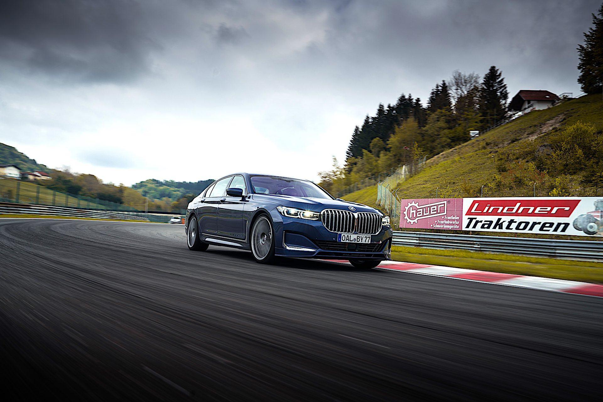 BMW Alpina B7 - przód