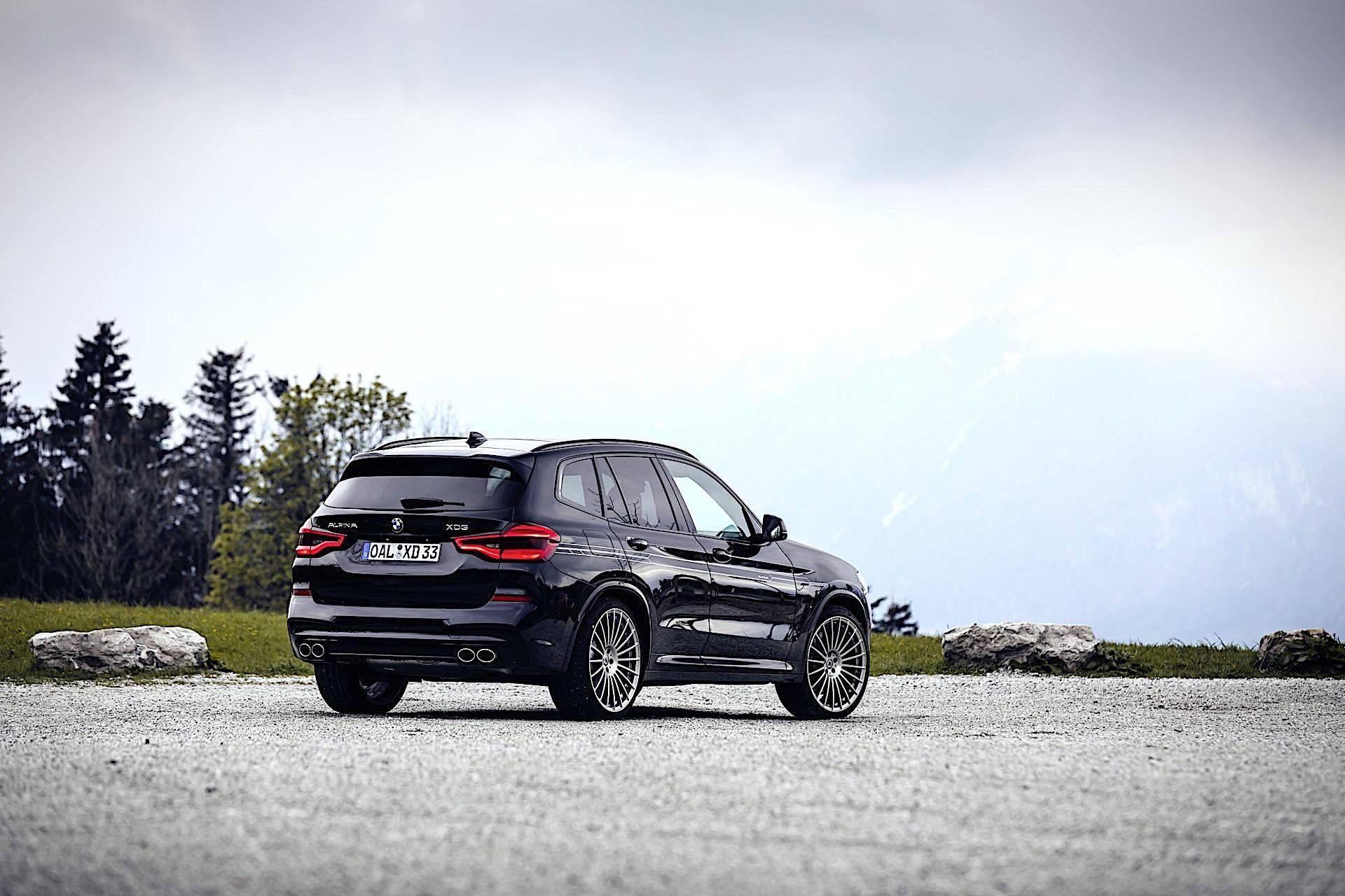 BMW Alpina XD3 - tył