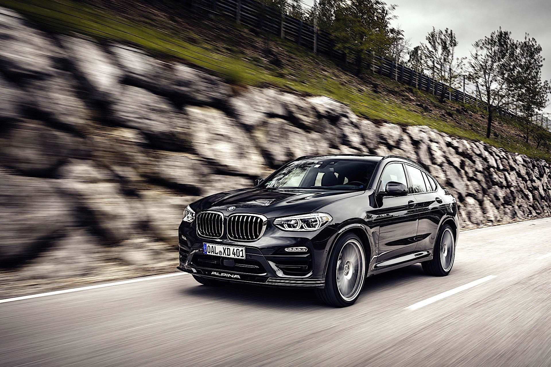 BMW Alpina XD4 - przód
