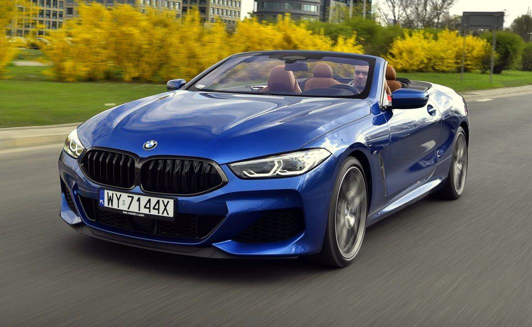 BMW M850i Cabriolet - otwierające