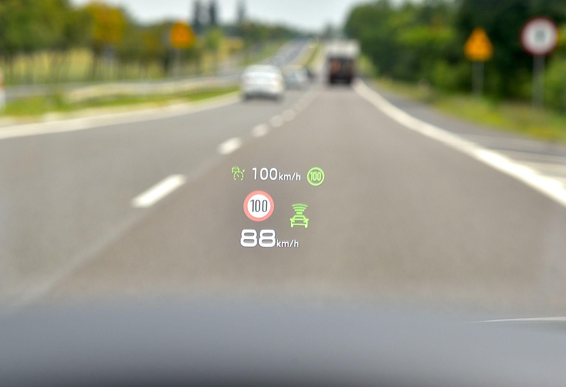 Ekran Head-up Audi A6