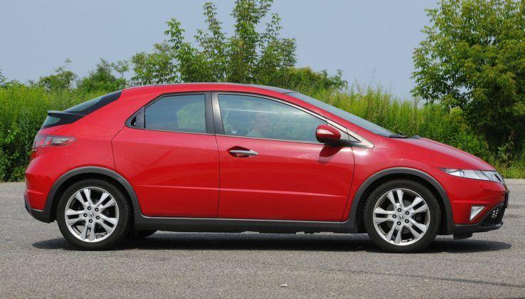 Honda Civic VIII - bok