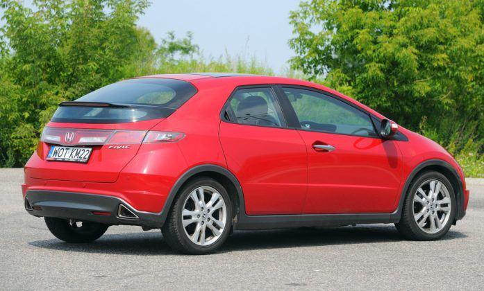 Honda Civic VIII - tył